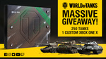 Win a Custom World of Tanks Xbox One X or 1 of 250 Premium In-Game Tanks from World of Tanks