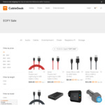 CableGeek EOFY Sale: Anker PowerCore Elite 20000mAh $49.95, USB-C to USB 3.1 Adapter $8.95, Free Shipping + Lots More