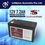 12V 7.2AH Rechargeable Battery for NBN, UPS, Alarms, etc. $20.95 Delivered @ LanPLUS (via eBay)