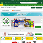 Woolworths Spend $150 Online - $10 off Your Supermarket Order (Pickup Only)
