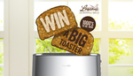 Win 1 of 2470 Breville 4 Slice Bit More Toasters Worth $79.95 Each [Purchase of Lawsons Bread]