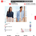 Free Shipping @ UNIQLO