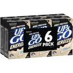 Sanitarium UP&GO or UP&GO Energize 6x 250ml $4.27 - $5 Each @ Woolworths