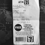 Free Iced Coffee or 600ml Water Bottle When Your Bank Account Balance Is Less than $2.50 @ 7-Eleven ATM