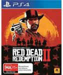 Trade in 2 Selected Console Games for Red Dead Redemption 2 Game @ JB Hi-Fi