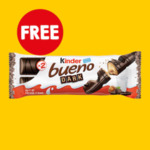 Free Kinder Bueno Dark 43g @ 7-Eleven via Fuel App
