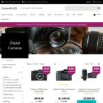 Fujifilm X-H1 $1749 (+ $350 Cashback) | Fujifilm X-T2 $1499 (+ $350 Cashback) | Canon EOS R $2899 + More @ CameraPro