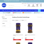 Cadbury Chocolate Coated Range $2.50 @ Big W (In Store)