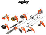 MTM 62cc Pole Chainsaw Hedge Trimmer Saw Brush Cutter Whipper Snipper Multi Tool $227.05 Delivered @ Edisons eBay