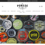 10% OFF All Men's Grooming Products (Free Shipping for all order over $40) @ The Pomade Shop