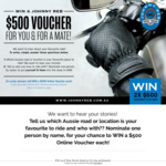 Win Two $500 Online Vouchers from Johnny Reb