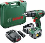 Bosch Cordless Hammer Impact Drill PSB 1800 LI-2 (2 Batteries, 18 Volt System, 1.5 Ah, in Case) $99.90 Delivered @ Amazon