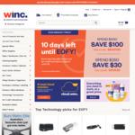 WINC - Spend $500 Save $100 / Spend $250 Save $30
