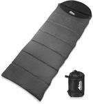 Weisshorn Single Thermal Micro Compact Sleeping Bag - Black & Grey $39.99 + Shipping @ OMG Deals