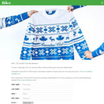 Win 1 of 6 Canadian Club Bad Sweaters Worth $49.99 from The Bottle-O
