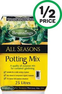 Brunnings Potting Mix Or Pine Bark 25 Litre 3 Woolworths Ozbargain