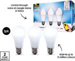 Brilliant Smart Bulb 3pk $39.99, Downlight $19.99, Spotlight $49.99 @ ALDI