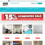 30% off Curtains and 15% off Blinds and Shutters @ Blinds City