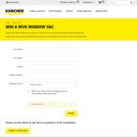 Win a Käercher WV6 Window Vac Worth $199 from Käercher