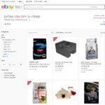 Extra 15% off Selected Ranges of Pet Items and 20% off Storewide @ Petstock via eBay