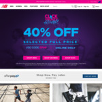40% off Full Priced Items (Excludes 860v10, Echo, Roav, Basketball) @ New Balance