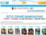 Big W Game Bargains for The Week