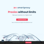 20% Discount for First Month with Smartproxy - Price Starting from USD $40/Month