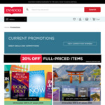 Dymocks Boxing Day Sale - 20% off Full Priced Items, 50% Select Items, & 20% off Lonley Planet Titles
