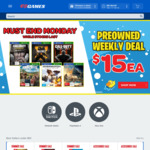 Buy 1 & Get 1 Free on Pre-Owned Console Games (Far Cry 5 + Fallout 4 $18) @ EB Games (in Store)