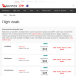 Qantas Global Sale: Economy to LAX/SFO $929/$949 (from BNE/SYD/MEL), $1049 (from ADL/PER) Return