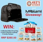 Win a Mealami Meal Prep Bag Worth $199.95 and a Kez's Kitchen Hamper Valued at over $60 from Kez's Kitchen