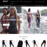 ECHT Fitness Clothing, 20% off Full Price Items @ ECHT