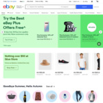 Free Express Delivery to eBay Plus Members in Metro Areas @ eBay
