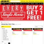 Buy 2 Movies, Get 1 Free @ JB Hi-Fi