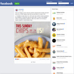 [VIC, NSW, ACT] Free Regular Chips (Normally $4) with Any Roll or Wrap Purchase @ Schnitz on Sunday March 22 (in-Store Only)