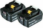 Makita 18V 5.0Ah Battery Power Tool - Twin Pack $207 (Was $249) @ Bunnings
