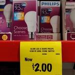 [VIC] Philips Scene Switch 9w 806 Lumens Globes (BC & ES) $2 @ Bunnings Mornington