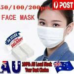 50x Disposable Face Masks $29.99 Delivered @ Fightharddd eBay