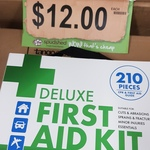 [WA] Deluxe First Aid Kit (210 Pieces) $12 @ Spudshed