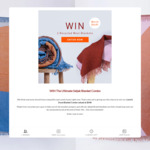 Win Two Blankets Worth $648 from Seljak Brand