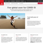 Emirates - Free Global Insurance Cover for COVID-19