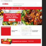 $10 off $150+ Spend on Contactless Click & Collect @ Coles