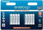 Panasonic Eneloop AAA BK-4MCCE (4th Gen) 8-Pack $28.20 + Delivery ($0 with Prime & $49 Spend) @ Amazon UK via AU