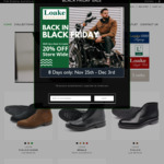 20% off Entire Order: Goodyear Welted Full Leather Shoes from $159 + Shipping (Free Shipping over $200) @ Loake Shoes