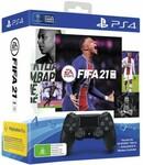 [Latitude Pay] PlayStation DualShock 4 Controller - FIFA 21 Bundle $69 @ Harvey Norman