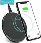 KUULAA 10W Qi Wireless Charger US$3.98 (~A$5.42) Delivered @ kuulaa Official Store AliExpress