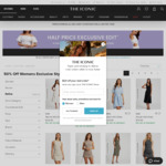 50% off Selected Dresses + 16% Cashback @ THE ICONIC via Shopback