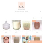 12% off Hand Poured Soy Candles (Free Delivery over $100 Spend) @ Sini Glow