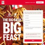 Win Menulog Vouchers, Brisbane Heat Merch and Tix to The KFC BBL Worth $7,440 from KFC