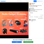 Win $2,943 in Prizes from Audio Gadget
